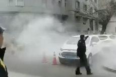 Bom Rakitan Meledak di Kantor Polisi China, 3 Orang Terluka