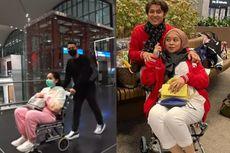 Beda dengan Aksi Raffi Ahmad Dorong Kursi Roda, Rizky Billar Angkut Lesti Kejora Pakai Stroller