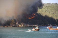 Kebakaran Hutan Melanda Turki, Orang-orang Melarikan Diri dari Rumah