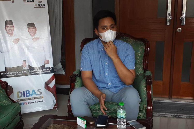Bupati Kendal Jawa Tengah, Dico M Ganinduto.