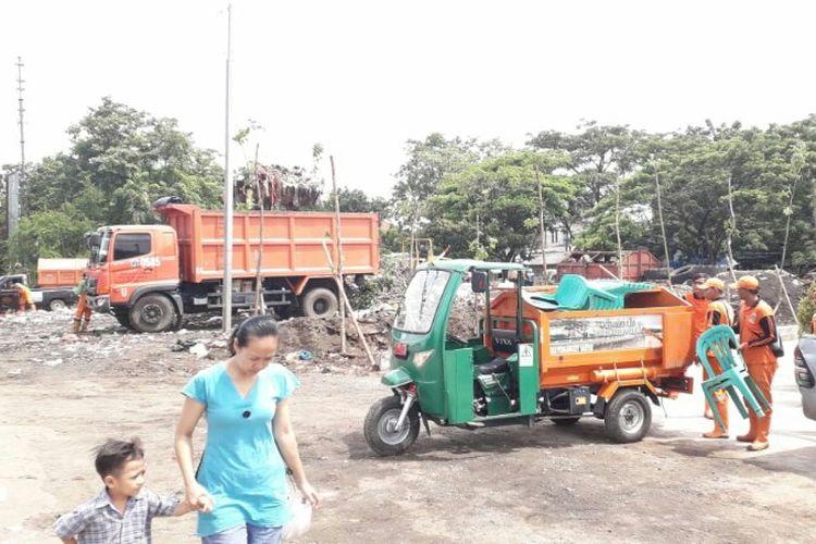 Dipo Sampah Ramah Lingkungan, TPS rawa Badak Utara,  Koja,  Jakarta Utara diresmikan pada Jumat (14/12/2018).
