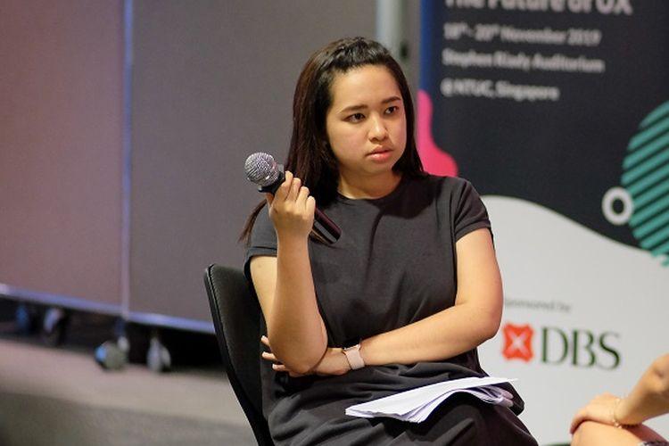 Naning Utoyo, praktisi bidang UX asal Indonesia yang saat ini bekerja di Singapura.