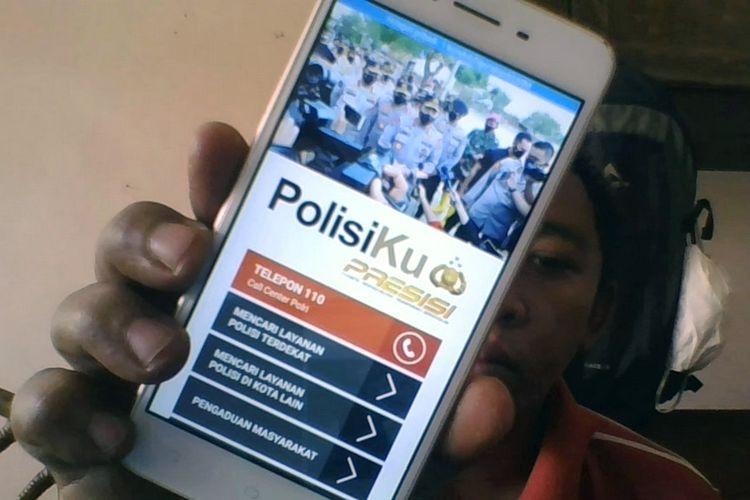 Aplikasi PolisiKu yang bisa diunduh di Play Store. Ada fitur baru di aplikasi ini, warga bisa melapor jika ada anggota Polri yang menyalahi kewenangannya.