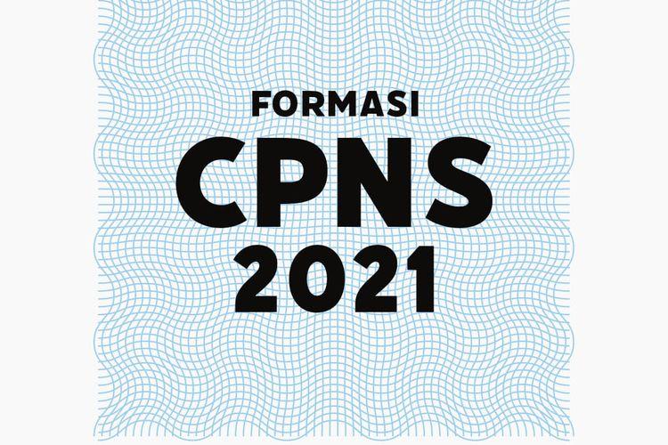 Ilustrasi pengumuman formasi CPNS 2021.