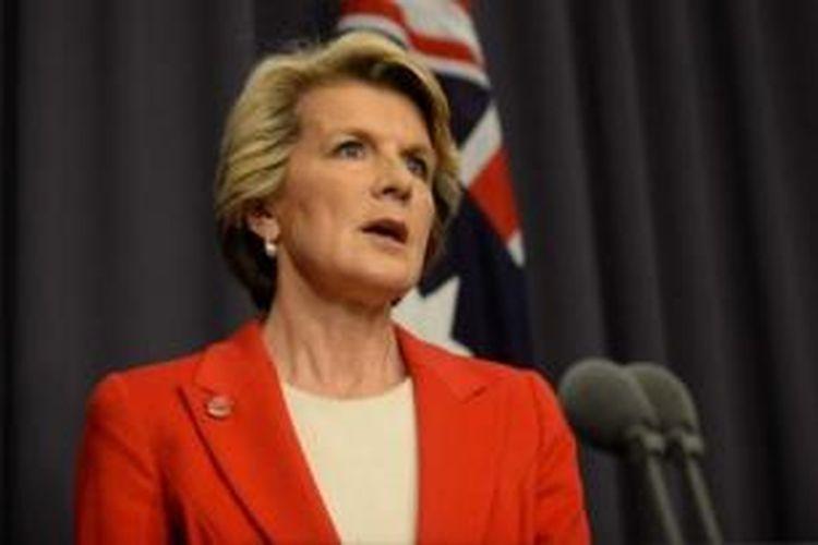 Menteri Luar Negeri Australia, Julie Bishop.