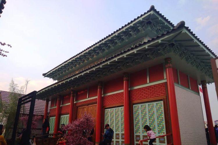 Kota Bandung memiliki tempat wisata baru bernama Kampung Korea Bandung.