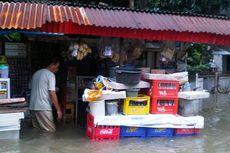 Genangan di Pondok Karya Capai 120 Cm
