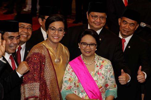 Resmi Dilantik, Berikut Lima Srikandi Jokowi di Kabinet Indonesia Maju