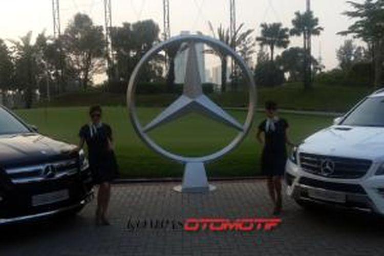 Mercedes-Benz Indonesia meluncurkan GL 400 dan ML 400 di Jakarta, Kamis (3/7/2014).