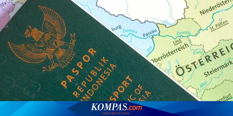 Antrean Bikin Paspor Bisa Lewat Online Ini Caranya Halaman All Kompas Com