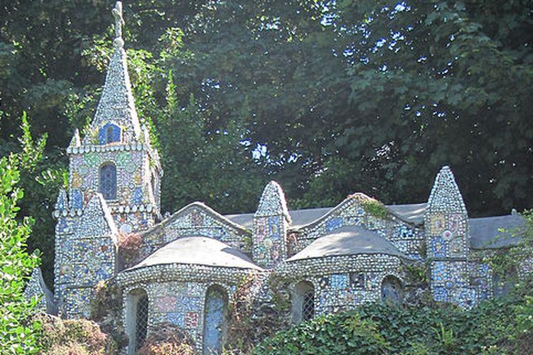 Little Chapel di Guernsey. [Via Wikimedia Commons]