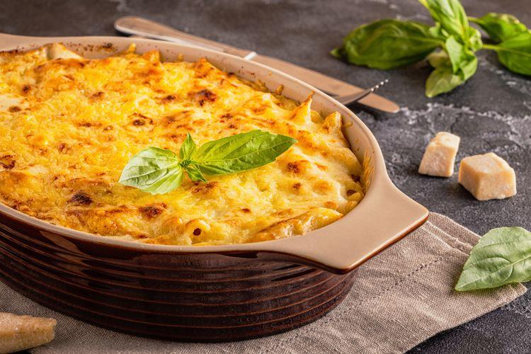 Ilustrasi macaroni schotel
