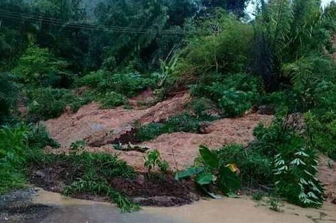 Akses 2 Desa Tertutup Longsor di Kabupaten Nagekeo, NTT