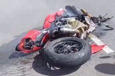 Ducati Streetfighter V4, Moge Rp 800 Jutaan Hancur karena Kecelakaan