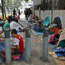 Para Pencari Suaka Gelar Demo di Depan Kantor UNHCR, Minta Pasokan Makanan
