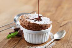 Resep Chocolate Souffle, Dessert Kekinian 5 Bahan