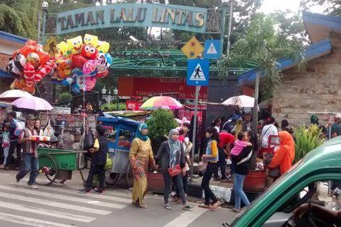 Biar Kuno, Taman Lalu Lintas Jadi Primadona Libur Lebaran di Bandung