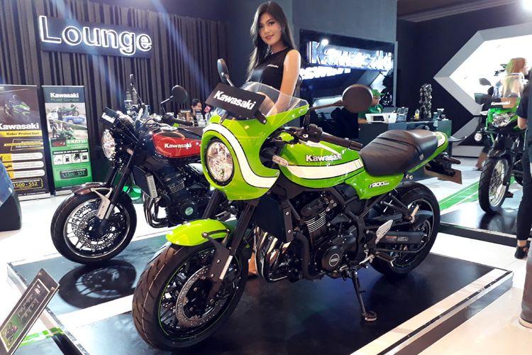 Kawasaki Z900RS Cafe di IIMS 2018.