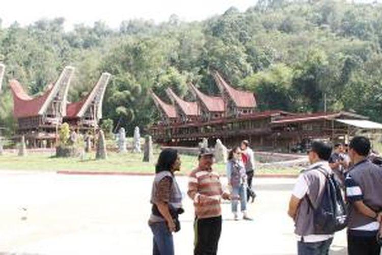 Museum Ne' Gandeng, salah satu obyek wisata di Kabupaten Toraja Utara, Sulawesi Selatan.