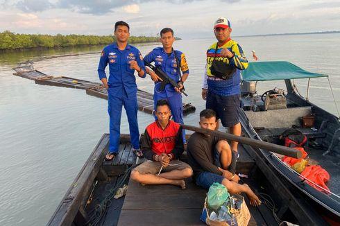 Enam Hari Diselidiki,  Kapal Pengangkut Kayu Ilegal Berhasil Ditangkap di Riau
