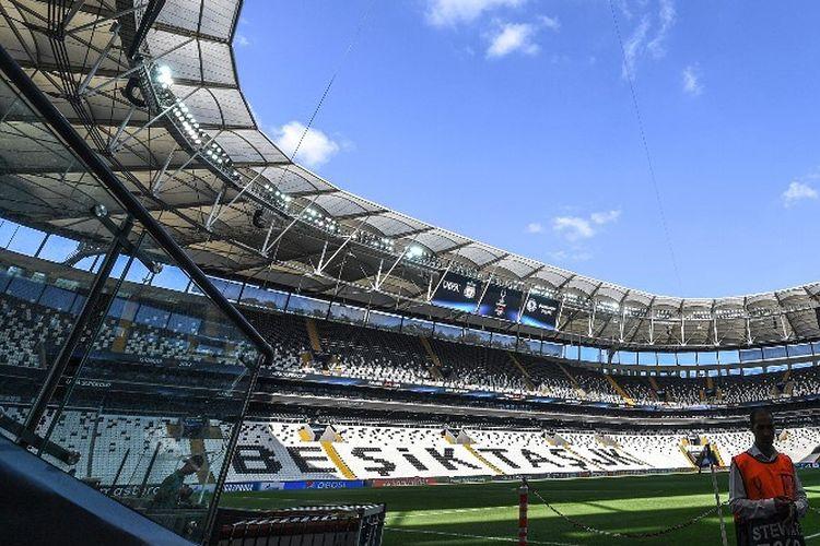 Vodafone Park, kandang Besiktas, tempat laga Piala Super Eropa 2019 digelar pada Rabu, 14 Agustus 2019.