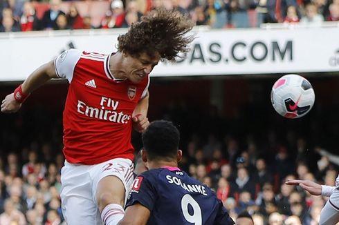 Arsenal Vs Bournemouth, Gol Tunggal David Luiz Menangkan The Gunners