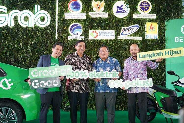 Grab Indonesia merupakan salah satu perusahaan swasta yang berperan sebagai mitra utama pemerintah dalam menangani krisis COVID-19.