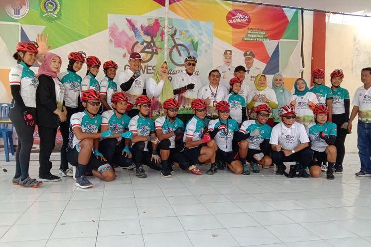 Tim yang berisikan 15 atlet dari beberapa daerah di Indonesia ini plus dari TNI dan Polri telah mengawali perjalanan dari titik 0 KM Sota, Merauke, pada 22 Juli 2019 lalu dan perjalanan akan berakhiri pada 1 September mendatang di Senggigi, Lombok, Nusa Tenggara Barat.