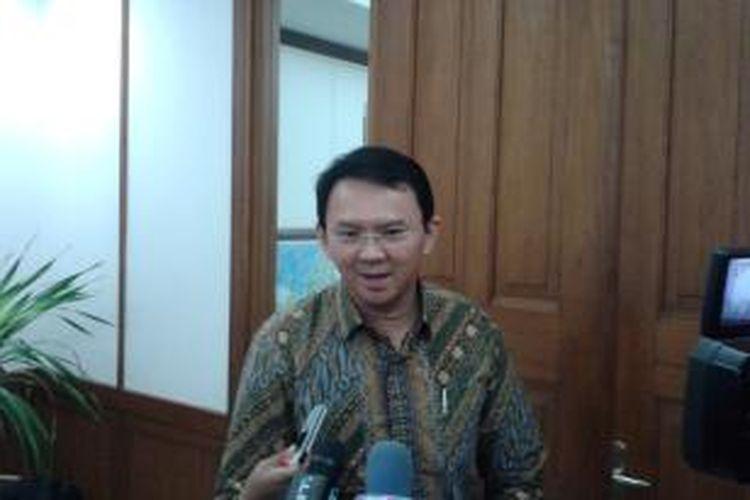 Pelaksana Tugas (Plt) Gubernur DKI Jakarta Basuki Tjahaja Purnama,  di Balaikota Jakarta, Senin (2/6/2014)
