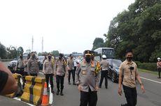 Hari Pertama Larangan Mudik, Ratusan Kendaraan yang Masuk Kota Bogor Diputar Balik