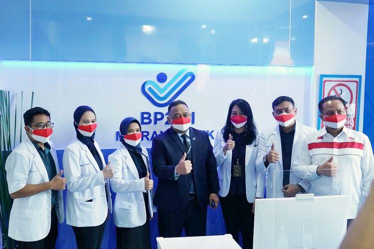 Migran Klinik di Kantor Badan Pelindungan Pekerja Migran Indonesia (BP2MI), Jakarta, pada Rabu (25/8/2021).