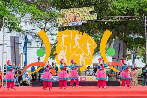 Pekan Olahraga Tradisional Tingkat Nasional Resmi Dibuka