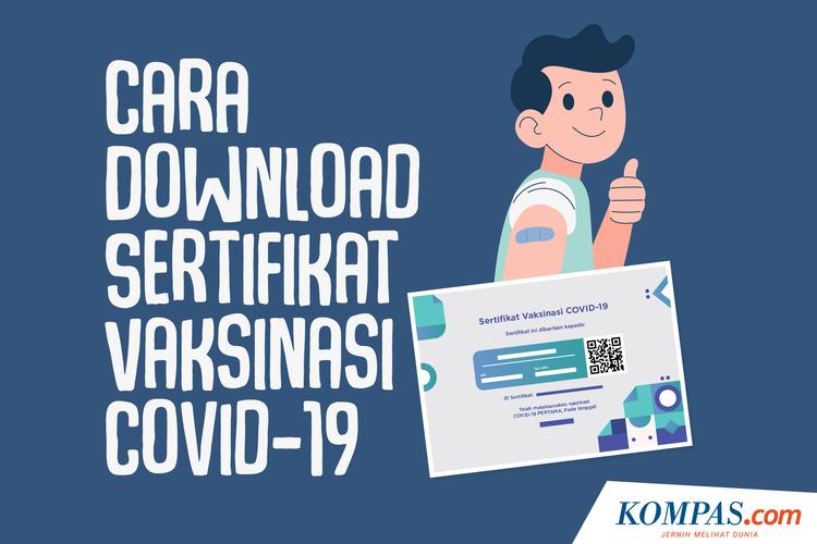 Cara Download Sertifikat Vaksinasi Covid-19