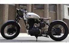 Modifikasi RE Classic 350 Ala Bobber Tahun 30'an