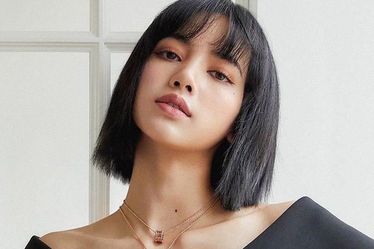 Lisa Blackpink resmi didaulat menjadi brand ambassador baru Bvlgari.