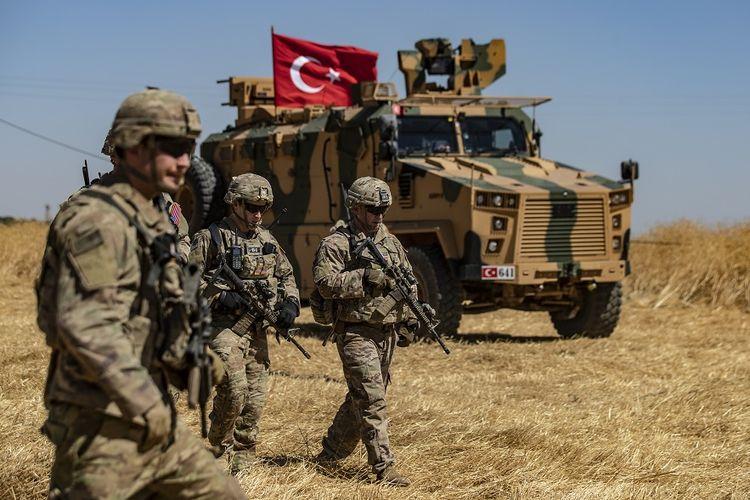 Tentara AS di Suriah.