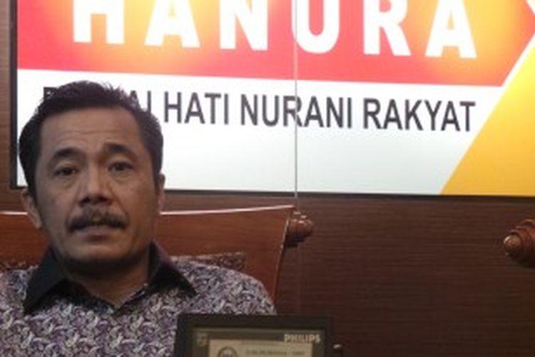 Ketua Fraksi Partai Hanura Syarifuddin Sudding