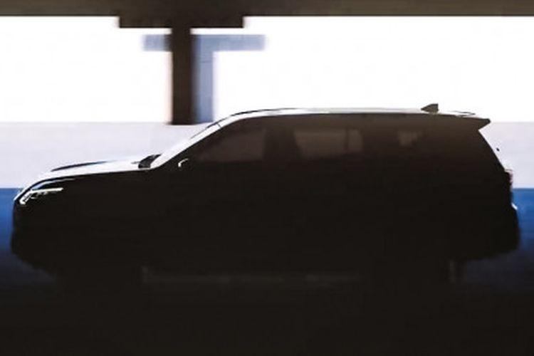 Siluet Nissan Terra model baru dalam video teaser yang dirilis Nissan.