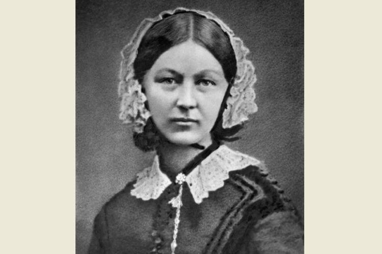 Florence Nightingale. (Wikipedia)