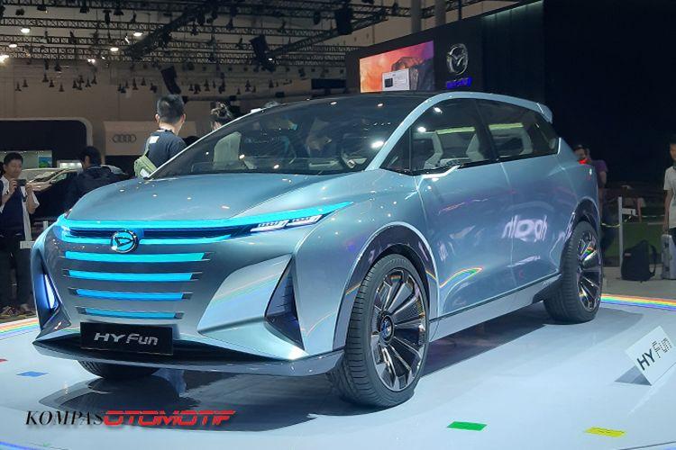 MPV hybrid Daihatsu bernama HYFun