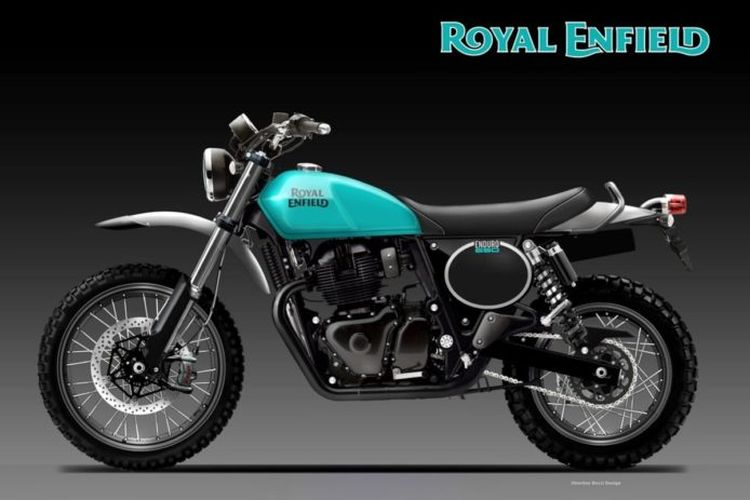 Rendering Royal Enfield Enduro