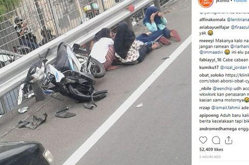 5 Remaja Bermotor Masuk Jalan Tol Tomang