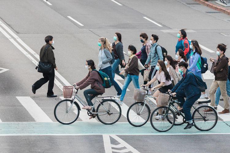Ilustras pandemi Covid-19 di Taiwan