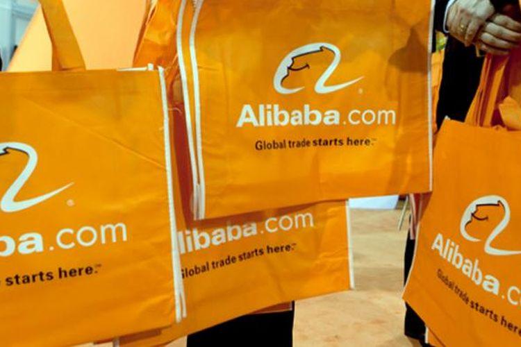 Ilustasi e-commerce Alibaba