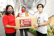 Gibran Salurkan Bantuan 8.000 Masker dari Puan Maharani