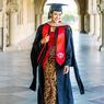 Maudy Ayunda Lulus dari Stanford University