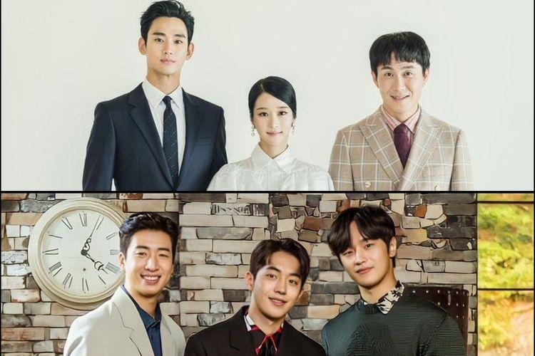 Para pemain drama Korea It?s Okay To Not Be Okay dan Start-Up.