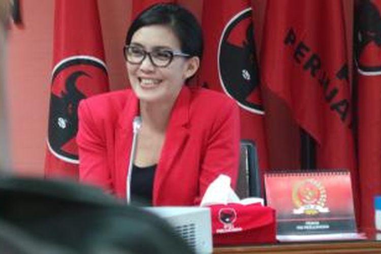 Anggota Komisi IX DPR dari Fraksi PDI Perjuangan Rieke Diah Pitaloka