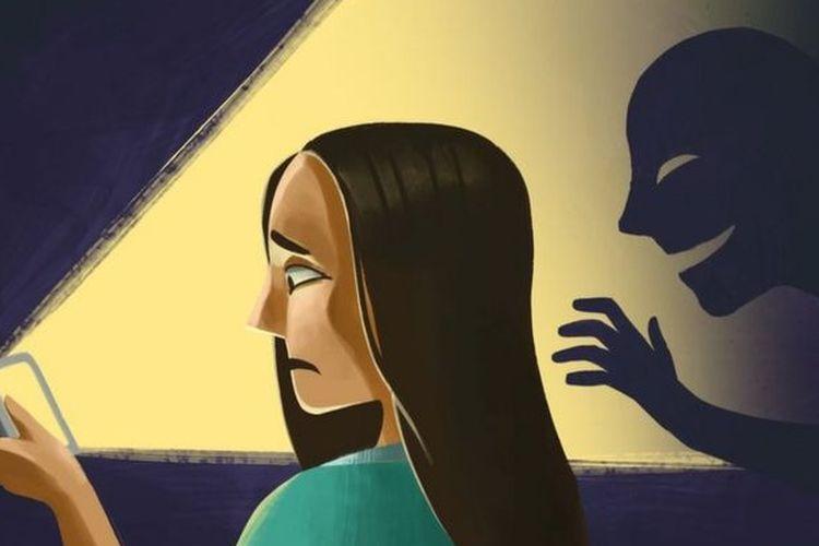 Kekerasan seksual berbasis gender online.