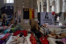 Massa Migran di Brussel Akhiri Mogok Makan Massal pada Hari Ke-60